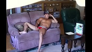 Roommate catches his naked buddy on SpyCam