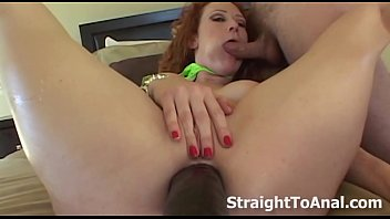 Audrey Hollander Stuffing Dildos In Her Anal