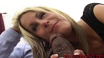 Young blonde Courtney Simpson filled with BBC preview image