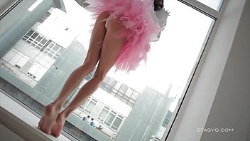 Foro model teen erotic Beautiful sveta dancing wearing a pink ballerina tutu dress