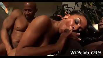 Interacial sex videos Two round assed gals getting juicy holes licked and nailed