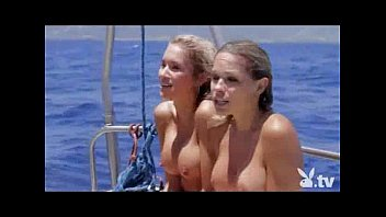 Playboy celebs naked Nude girls in a shark cage