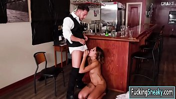 Waitress gets fucked Eve ellwood getting fucked by co worker