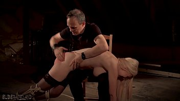 Big tits blonde punished and humiliated in bondage sex