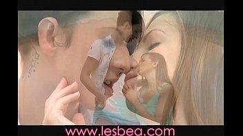 Lesbea Huge oily boobs massaged