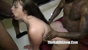 damm white girl PAWG fucked by romemajor and don prince