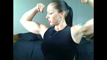 Teens biceps - Strong mistress with huge biceps