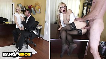 BANGBROS - Sexy Office Secretary Alex Grey Pays For Her Mistake pornhub video