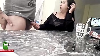 He is bored with the talk and wants to fuck his wife ADR0375