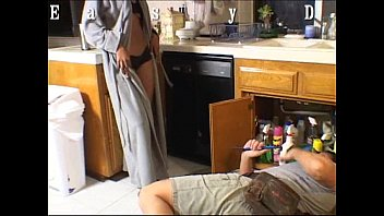 Easydater - Plumber Fucks The Housewife And Gets Caught In The Act