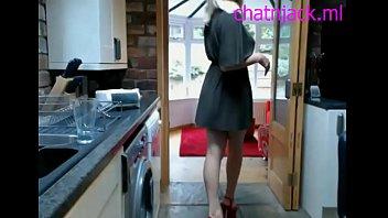 Hot Blonde Houswife Teases on cam - http://chatnjack.ml