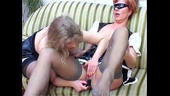 Wild bizarre sex Lesbian milfs have a wild fuck