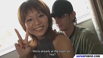 hotel fun with  a japanese slut