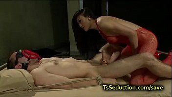 Darion recommend best of gangbang a up guy tied shemale