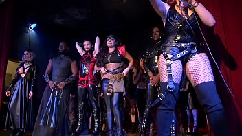 Male corset bondage - Diabolique ball-highlights-fetish fashion show-freaky afterparty now on red