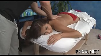 These cuties get more than just a regular massage, they get fucked hard