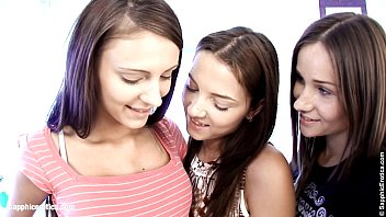 Sapphic erotica real teen lesbian - Teen threesome by sapphic erotica - sensual lesbian sex scene with ashlie and ma