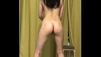 Russian whore Ksenia does squats