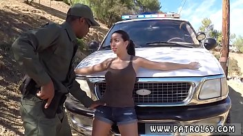 Police bondage and fake cop rimming Frida captured hold of the