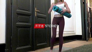 FIT18 - Angel Emily - Skinny French Yoga Instructor Fucked B