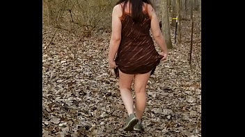 Walking the PAWG outdoors. The neighbors heard her cum!