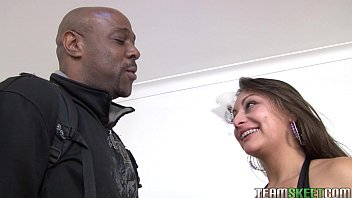 Oyeloca Smalltits latina Ariana Valdes hardcore interracial big cock sex