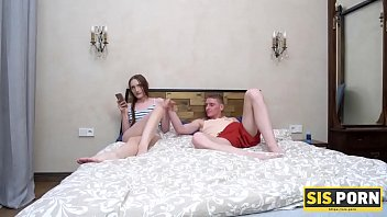Sis.porn. Student Heads To Stepbros Bed With The Only One Aim To Be Carnal Beside Gf