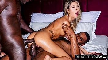 BLACKEDRAW Blonde GF craves BBCs
