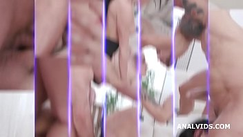 Nicole Love 4on1, Balls Deep Anal, DAP, Gapes, Face Slapping and Swallow GIO1452