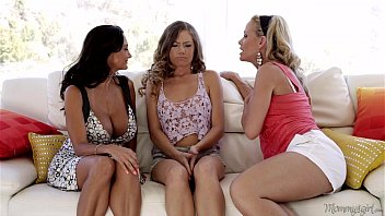 Kendall, Ava Addams and Simone Sonay at Mommy's Girl porn image