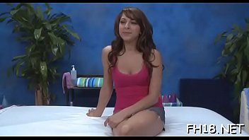 Hawt 18 year old gril gets drilled hard from behind by her massage therapist