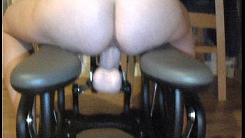 Monkey spank platinum Girlfriend on the monkey rocker