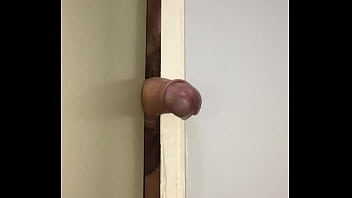 Fucking a New Door Crack until CUM