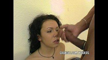 Throat Loving Teen Girl Deep Sucks Hard Cock