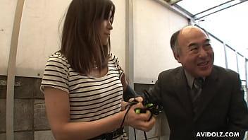 Japanese brunette, Saki Aiba is often pleasing various men, uncensored