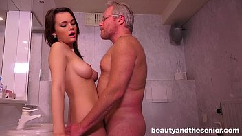Bald and chubby senior men Teen emily gets nailed by senior jeffrey