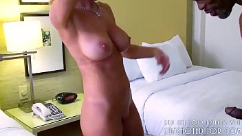 Curly MILF Loves Black Cock
