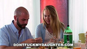 DON'_T FUCK MY DAUGHTER - Teen Alyssa Cole Fucks Daddy&rsquo_s Friend