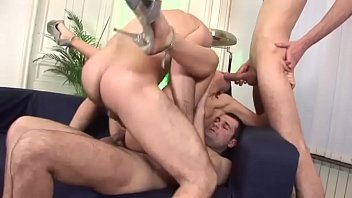 A lonely girl is fucked with a double penetration! Vol. 2