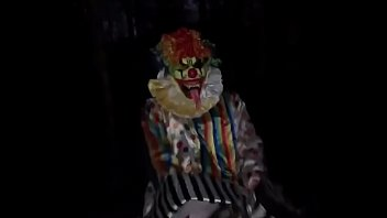 Clown fucks Pawg in the woods