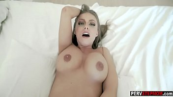 Mad busty MILF stepmom grabs him for that and does it pornhub video