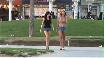 Two busty bombshells Brandi Edwards Trina Michaels copped off with skurfing fellow