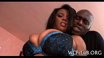 Black women with white man porn - Black chap bangs white gal