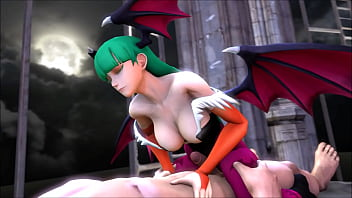 Marvel vs Capcom 3 Morrigan Aensland Hentai