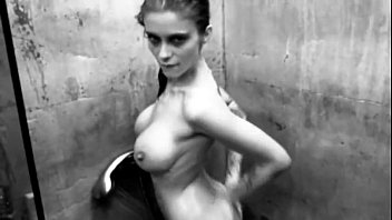 Mila Milan - Concrete Shower - Arty movie