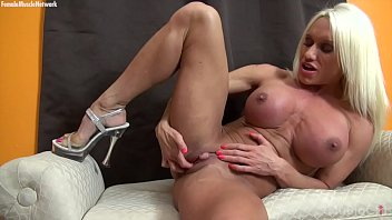 Female Muscle Pornstar Ashlee Chambers Huge Clit
