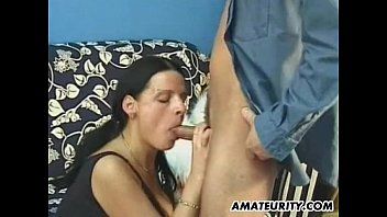 Amateur girlfriend with big boobs facial cumshot