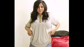 Hot Desi Big Boob Bhabhi Nude Dance And Getting Naked for Selfie MMS for hubby