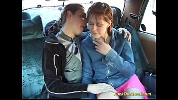 sweet teen likes crazy backseat fuck in my taxi