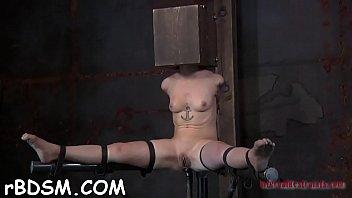 Angel wears an iron helmet during hardcore snatch drilling